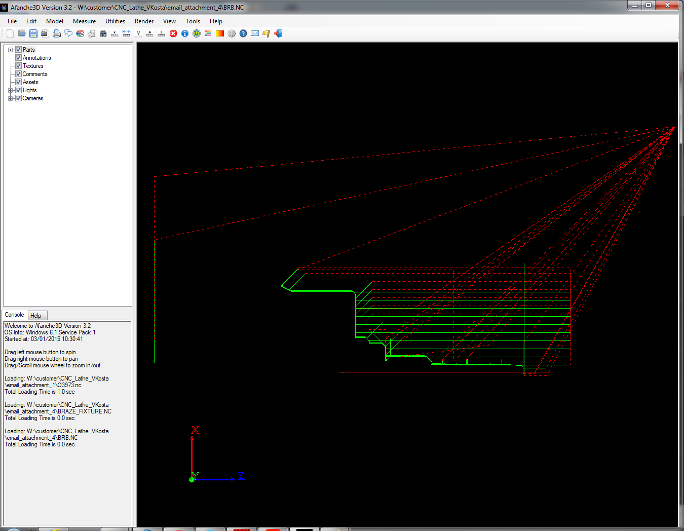 Use Afanche3D to visualize 2D CNC Lathe G-Code | Afanche ...