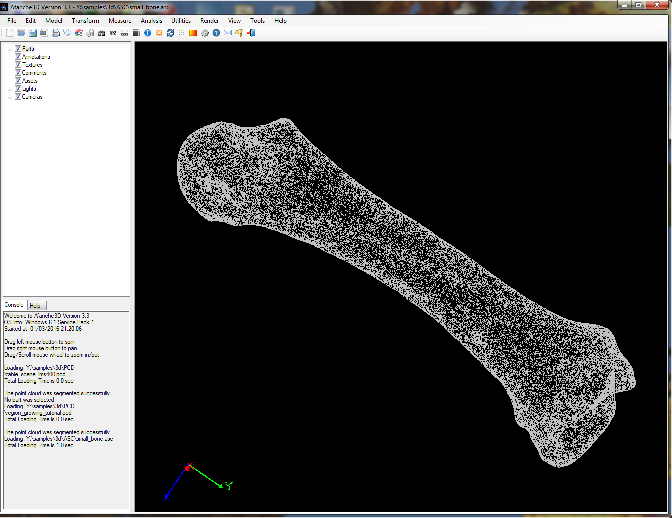 Tutorial : Point Cloud Data Processing | Afanche